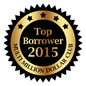 BPG is the Proud Recipient of the 2015 Top Borrower Award